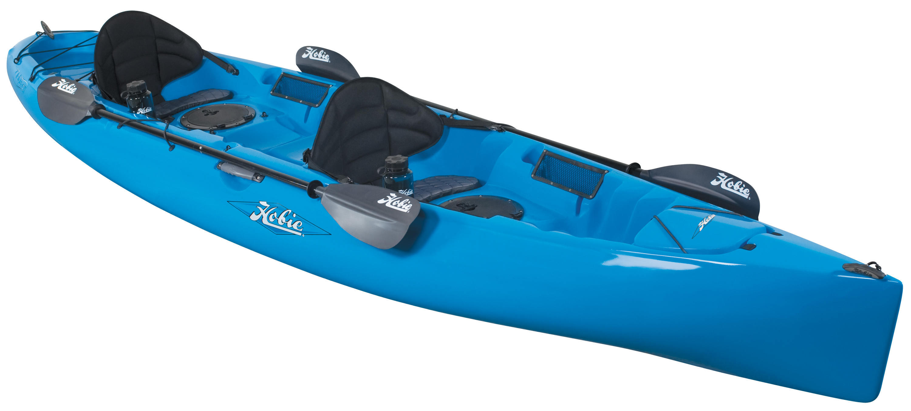 Hobie cat introduces two tandem kayaks to arsenal of for Best tandem fishing kayak