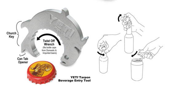 Yeti Coolers Introduces New Beverage Entry Tool
