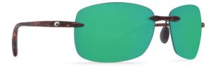 Costa's Destin in tortoise with green mirror 580P lens.